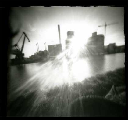 Camera Obscura Fotografie Hafen Münster