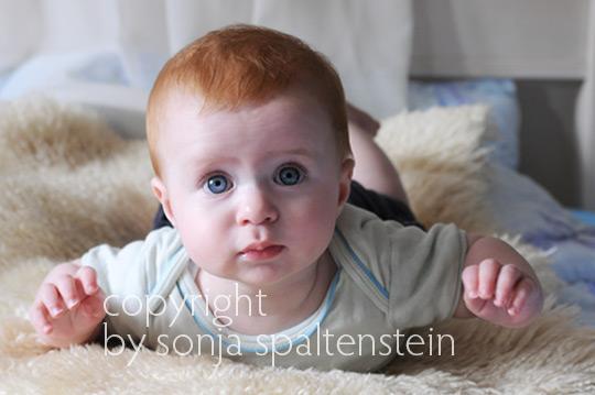 Babyfotografie at home