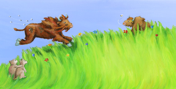 Fridolin der Müffel Büffel Seite 6