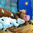 Detailansicht - Bilderbuschseite: Joschi, das kleine Lamm