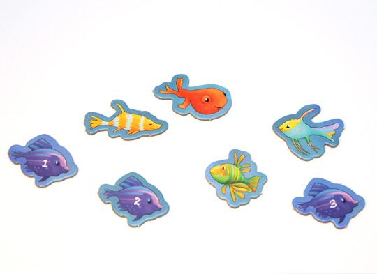 Stanzfischfigur Spiel Sheila Shark