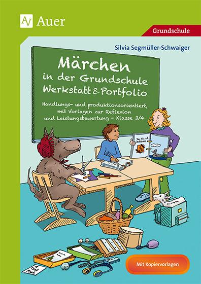 Covergestaltung für den Auerverlag Märchen in der Grundschule